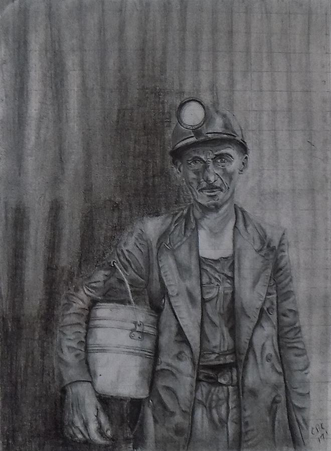 coal miner by Chuck Caputo