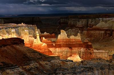 Hopi Reservation Photograph - Coal Mne Canyon  by Tom Narwid