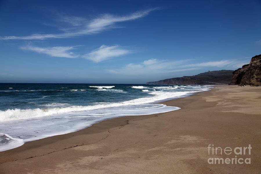 Beaches Photograph - Coast Line by Amanda Barcon