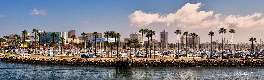Long Beach Digital Art - Coast Of Long Beach #3 by Bob Winberry