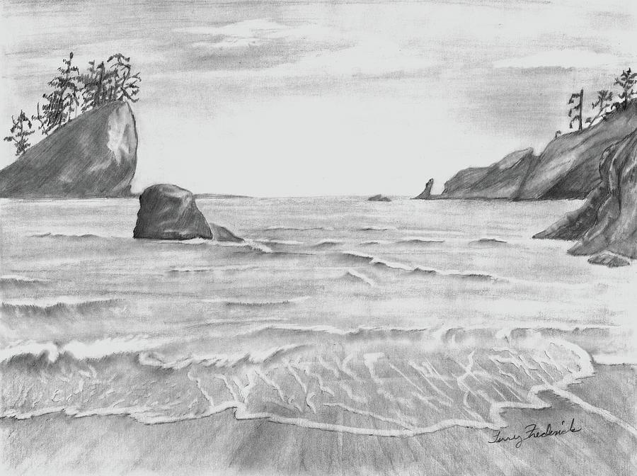 Coastal Beach by Terry Frederick