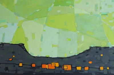 Coastal Painting by Ben Mitchell