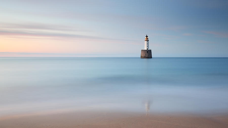 Lighthouse Photograph - Coastal Blues by Grant Glendinning