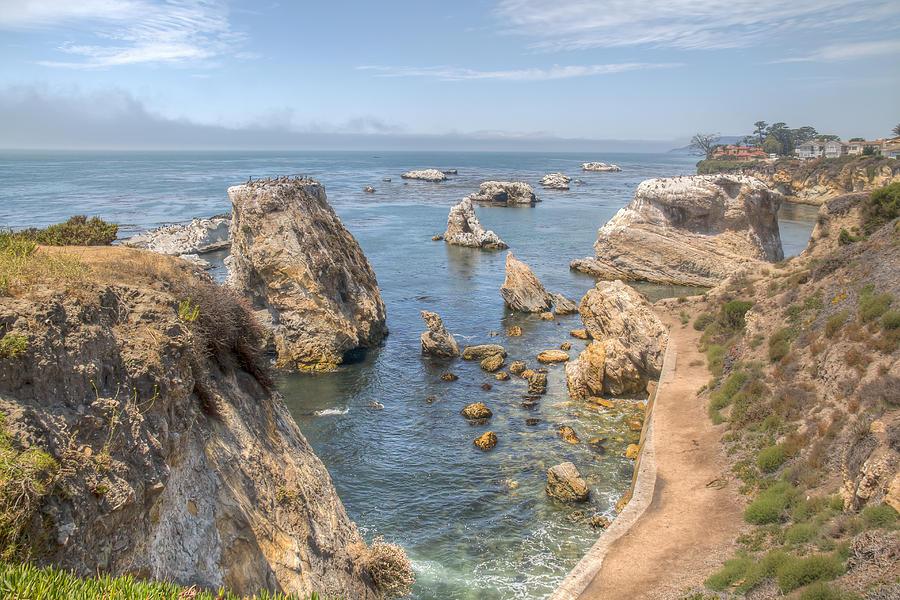 Seascape Photograph - Coastal California by Kristina Rinell