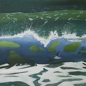 Coastal Cruise Painting by Lanny Mc Dowell