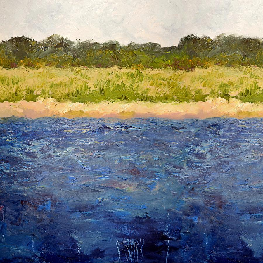 Coastal Dunes - Square by Michelle Calkins