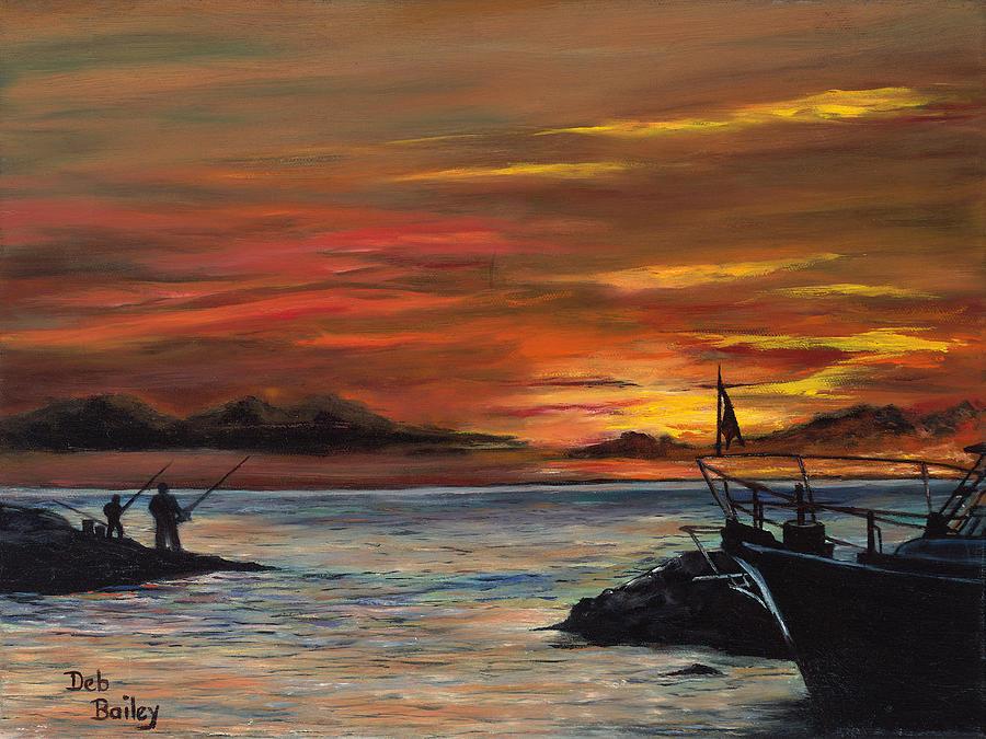 Coastal Evening by Debra Bailey
