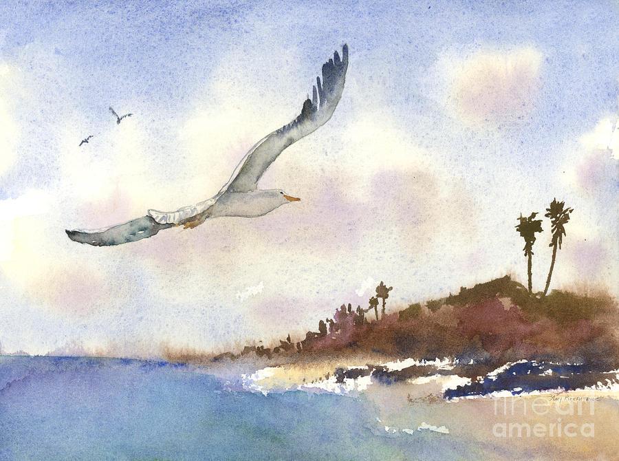 Coastal Flight Painting
