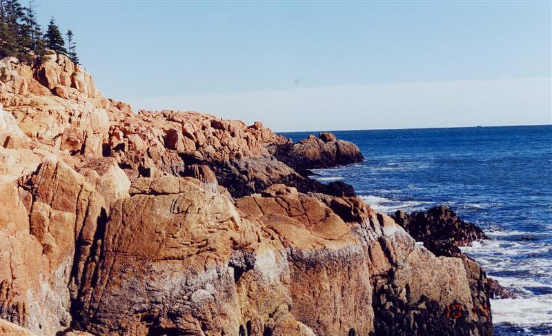 Coast Photograph - Coastal Maine by Kristina Scott