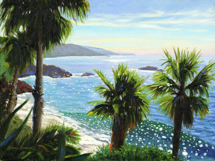 Coastal Palms by Steve Simon