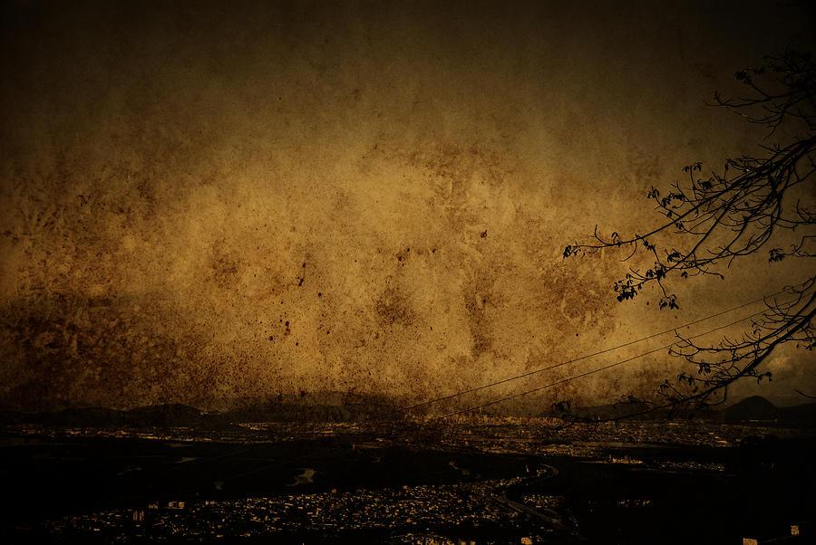 Illustration Photograph - Coastal Santos by Valmir Ribeiro
