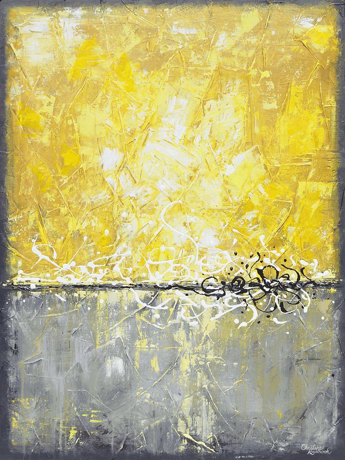 Coastal Serenity Painting by Christine Krainock