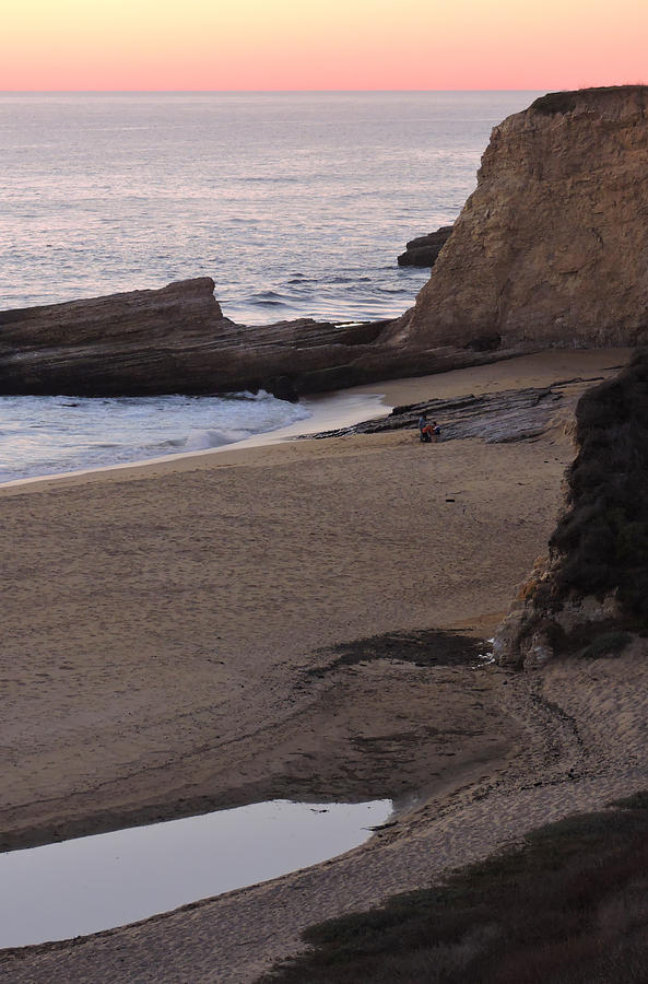 Coastal Tide Pool Photograph