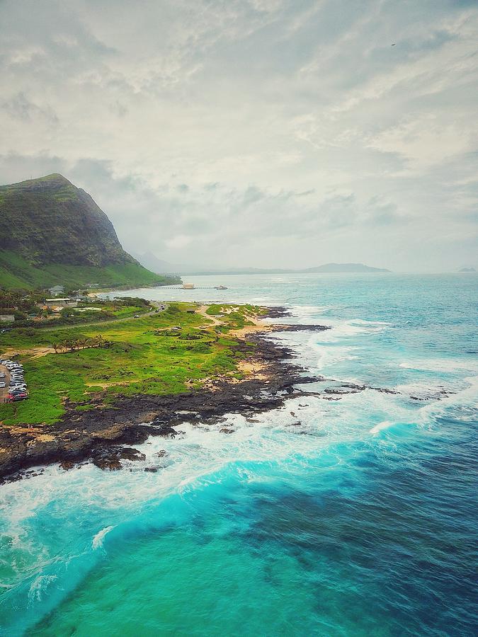Waimanalo Photograph - Coastal Views by Jason Keinigs