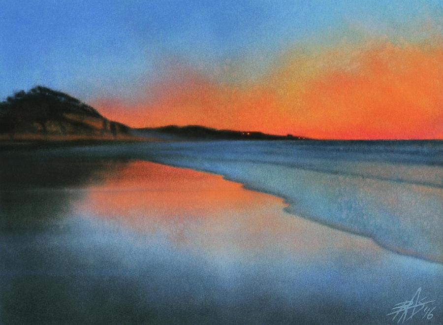 Landscape Painting - Coastal Walk Vii  by Robin Street-Morris