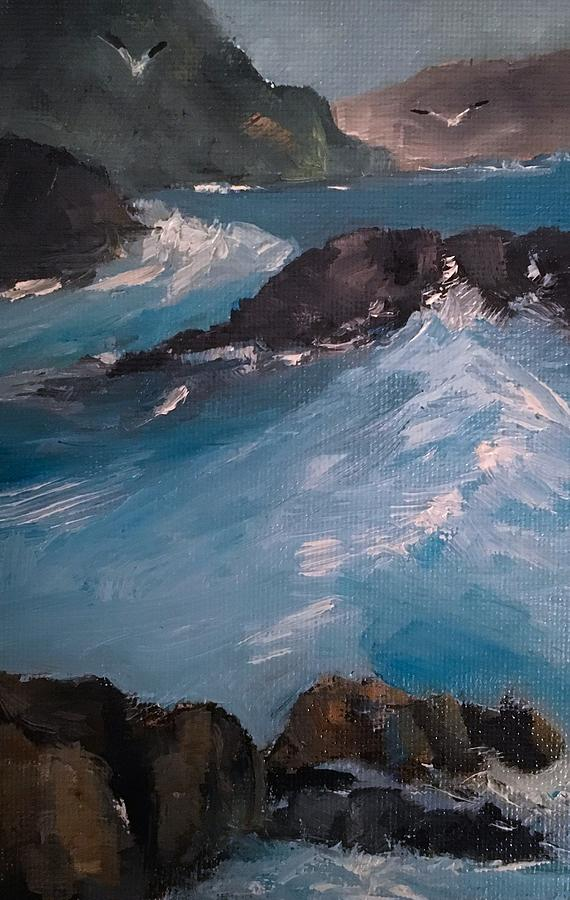Coastal Waves  by Michele Carter