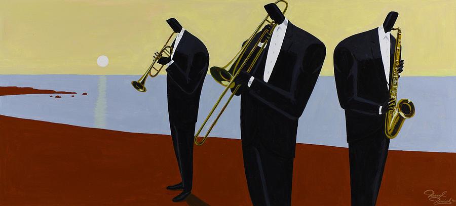 Music Painting - Coastal Winds by Darryl Daniels