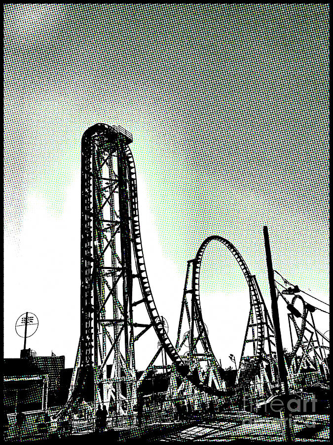 Coaster Thrills  by Onedayoneimage Photography