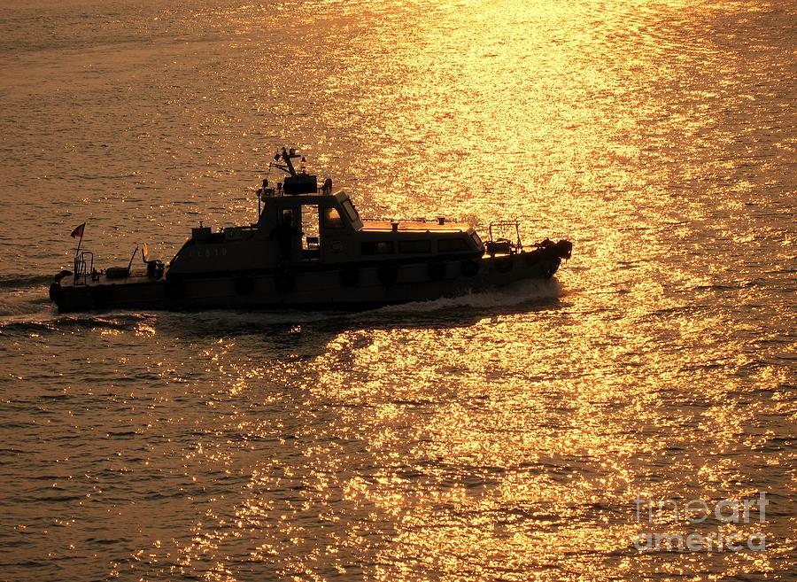 Ship Photograph - Coastguard Vessel by Yali Shi
