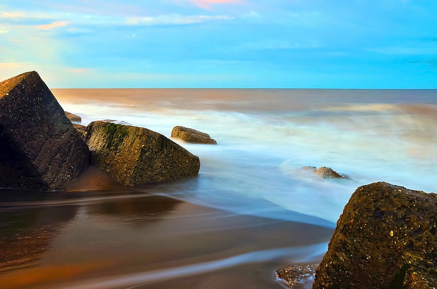 Bay Photograph - Coastline by Svetlana Sewell