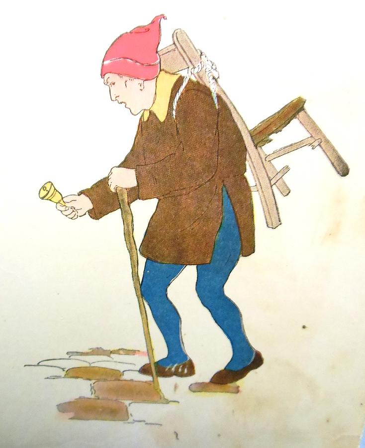 Milk Maid Drawing - Cobbler  by Lord Frederick Lyle Morris - Disabled Veteran