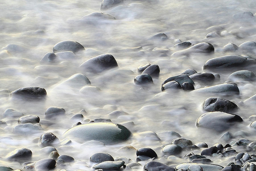 Cobble Photograph - Cobbles In The Mist by Brian Pflanz