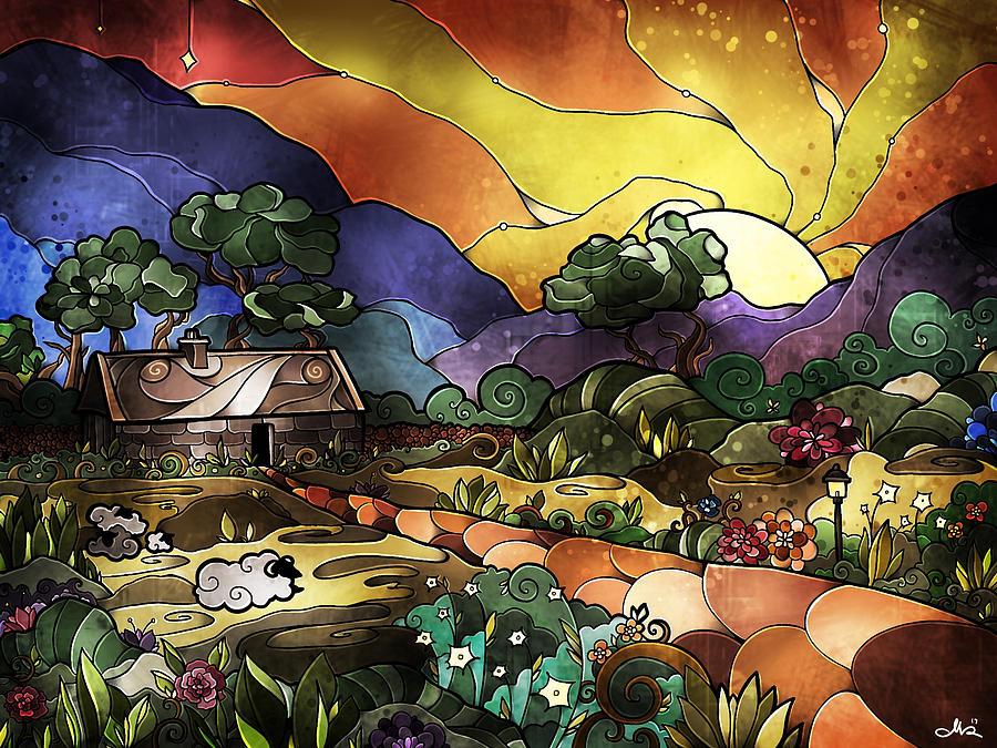 The Shepherd's Cottage by Mandie Manzano