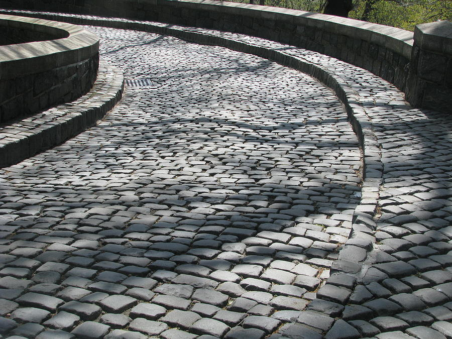 Cobblestone Stones For Driveways : Cobblestone driveway photograph by hasani blue