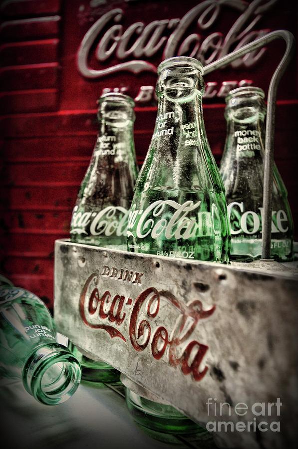 Paul Ward Photograph - Coca Cola Vintage 1950s by Paul Ward
