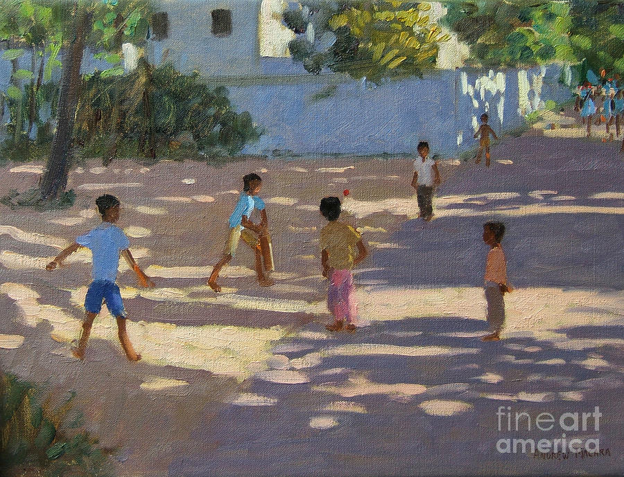 Indian Landscape Painting - Cochin by Andrew Macara