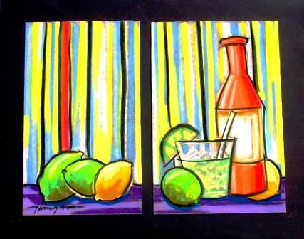 Decor Mixed Media - Cocktails by Daniel Henigman