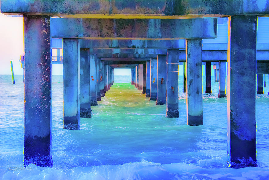 Cocoa Pier by Pamela Williams
