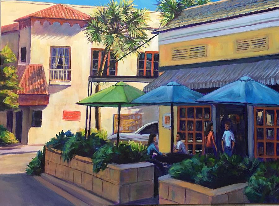 Cocoa Village 1v by Gretchen Ten Eyck Hunt