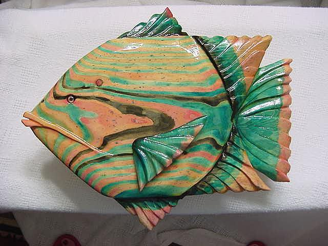 Fish Relief - Coconut Grove-sold by Lisa Ruggiero