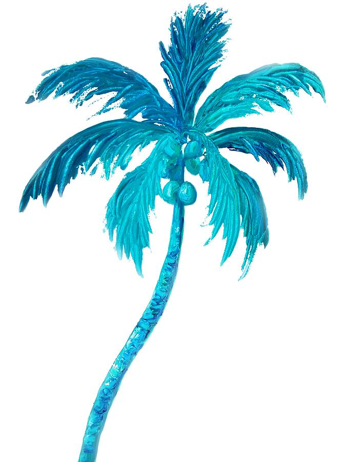 Painting A Palm Tree On A Wall