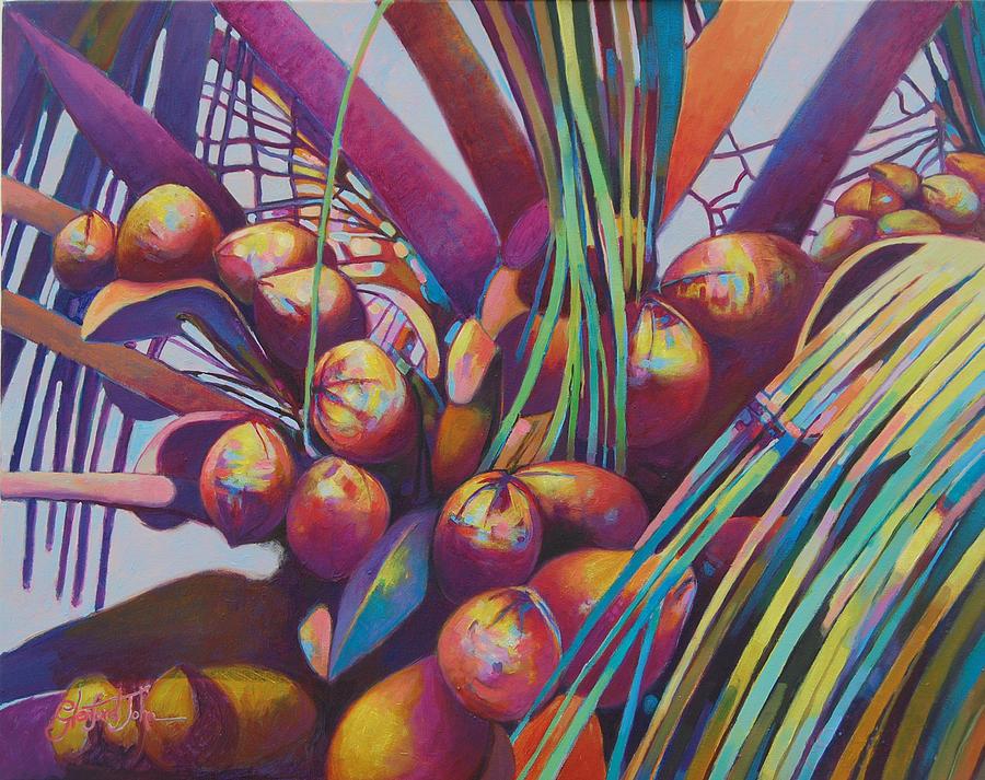 Coconuts Closeup by Glenford John