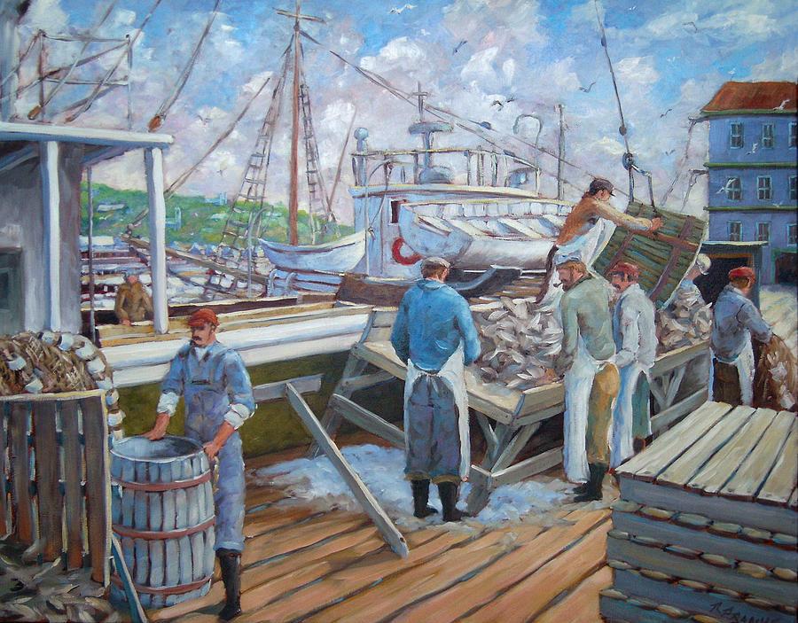 Cod Painting - Cod Memories by Richard T Pranke