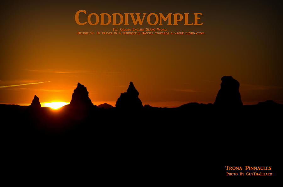 Coddiwomple Trona Pinnacles by Guy Hoffman