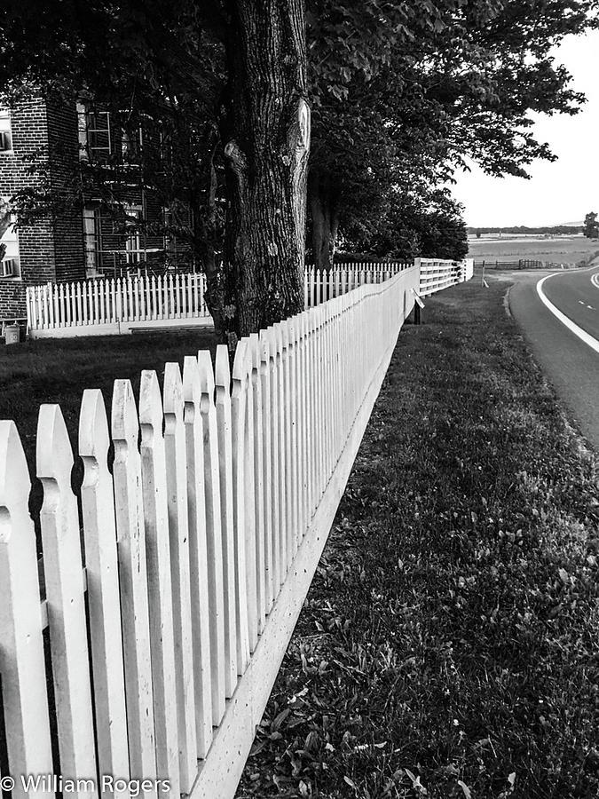 Gettysburg Battlefield Photograph - Codori Fence by William Rogers