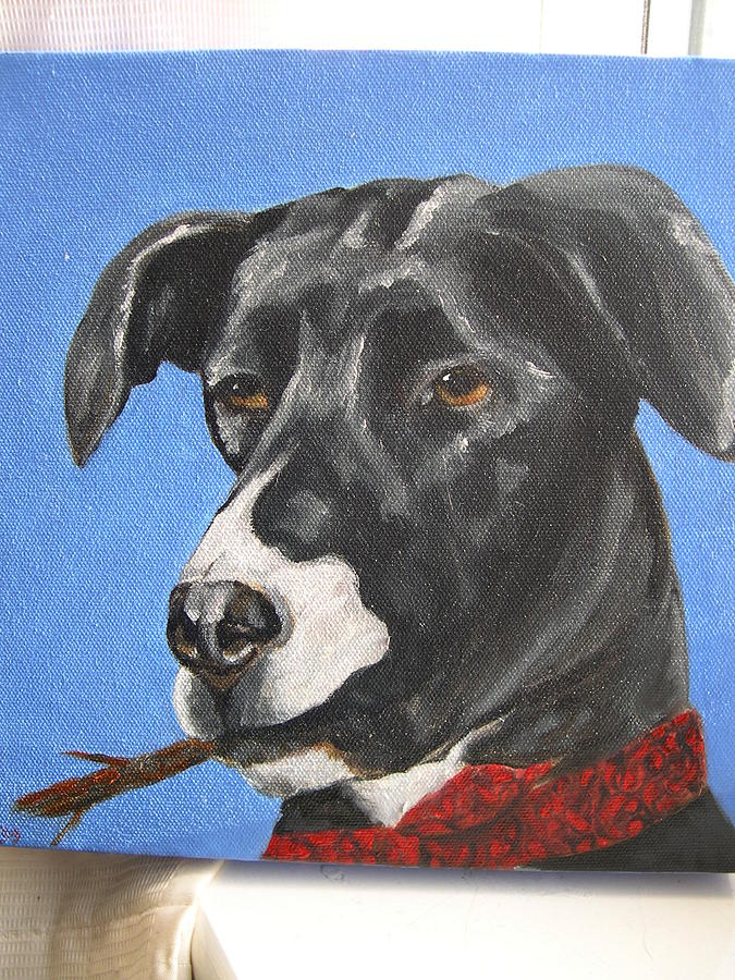 Commission Painting - Cody by Tara Lewis