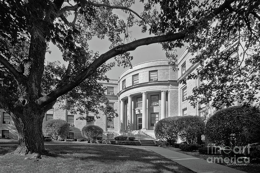 Coe College Photograph - Coe College Greene Hall by University Icons