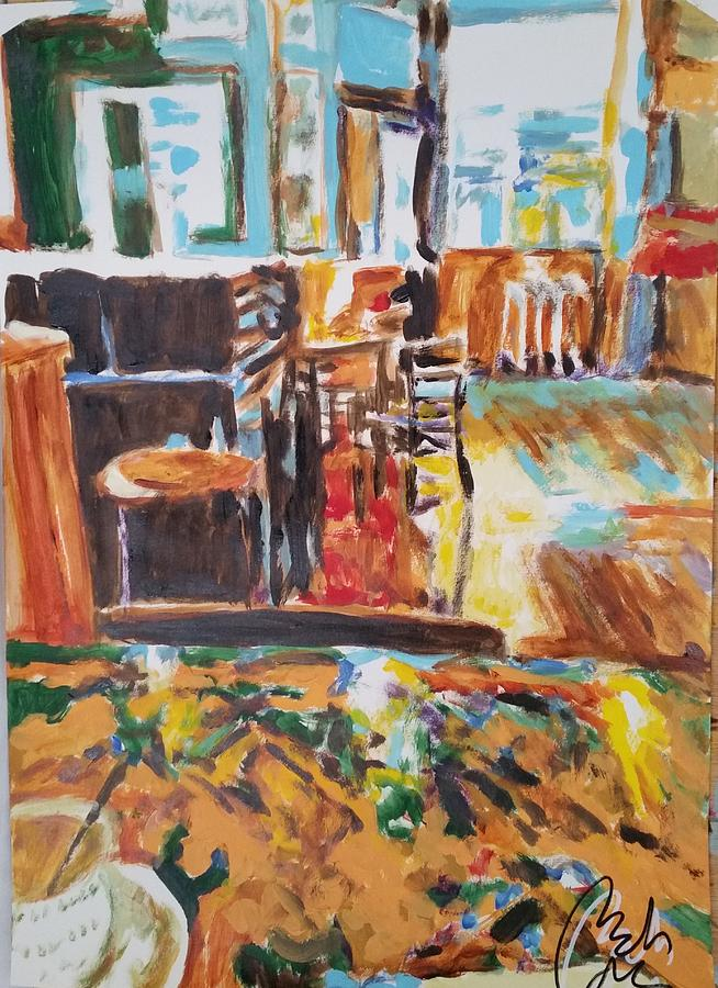 Snack Painting - Cofee wonderful by Bachmors Artist