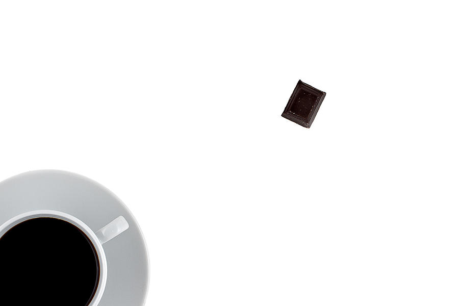 Background Photograph - Coffee And Chocolade by Gert Lavsen