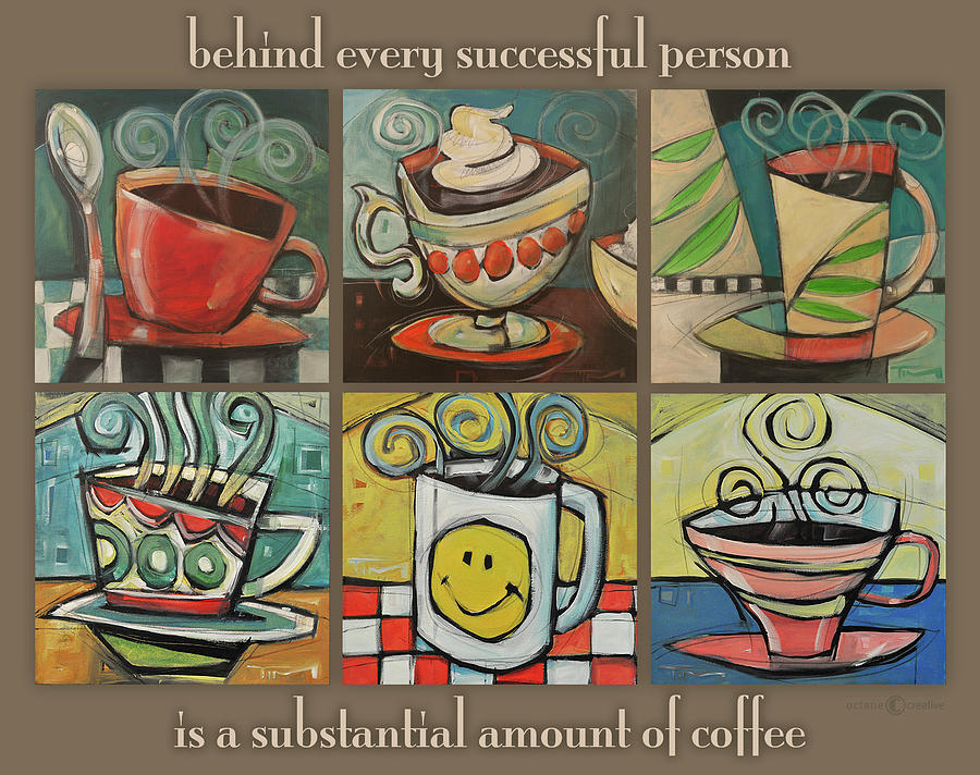 coffee behind success by Tim Nyberg