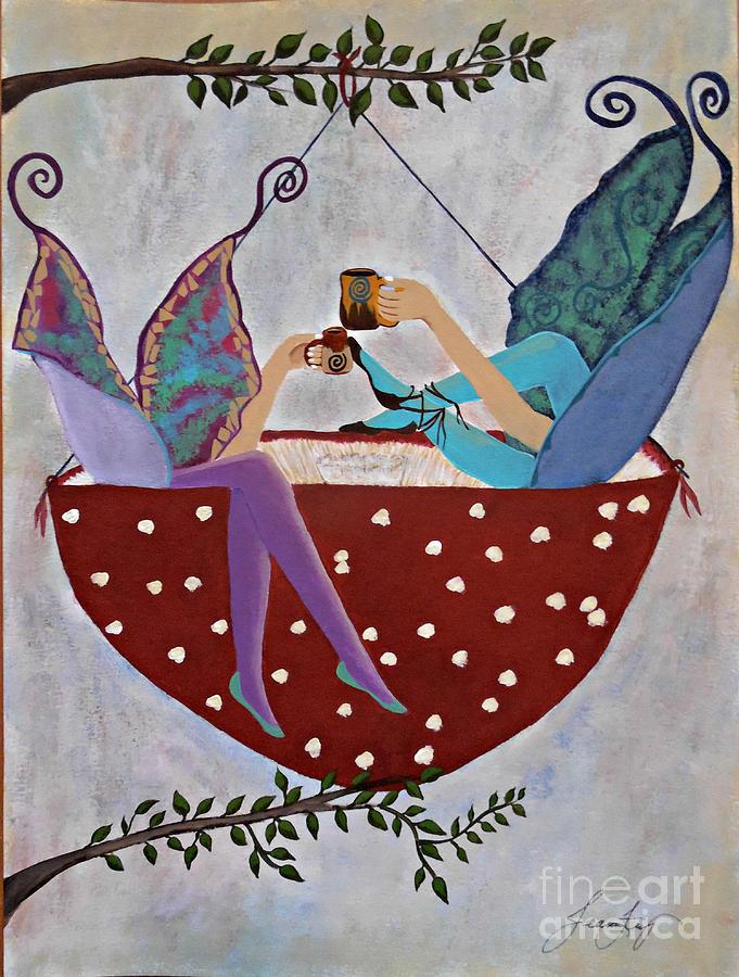 Coffee Break - The Importance of Fairy Fika by Jean Fry