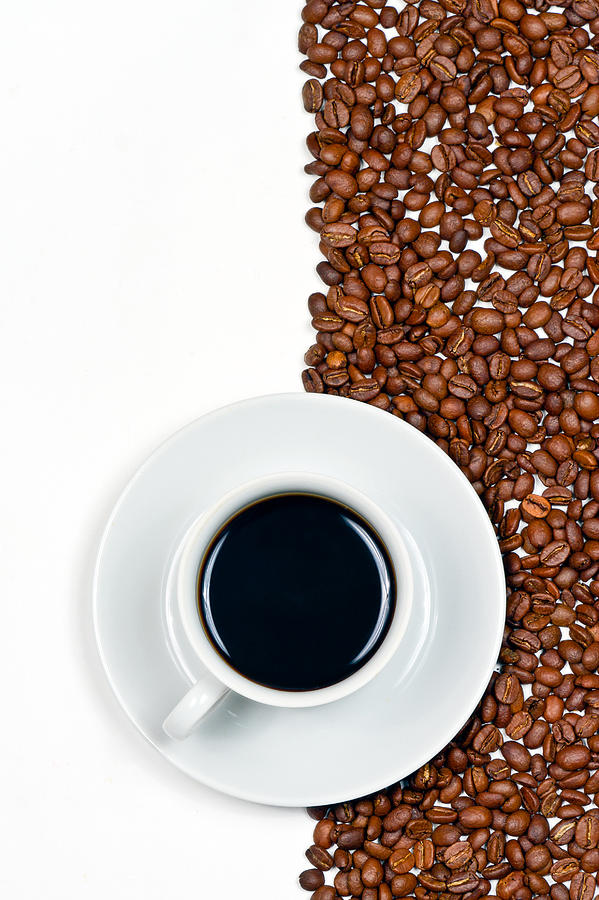 Aroma Photograph - Coffee by Gert Lavsen