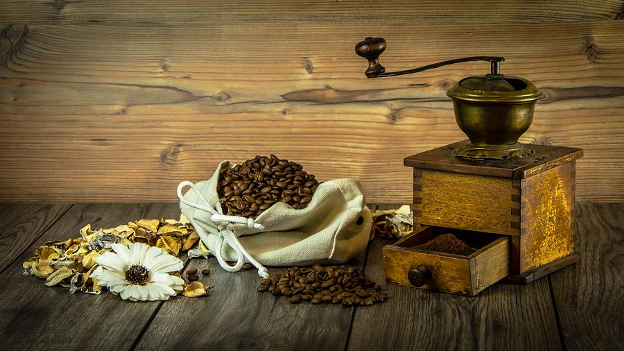 Coffee Photograph - Coffee Grinder by Carlene Smith