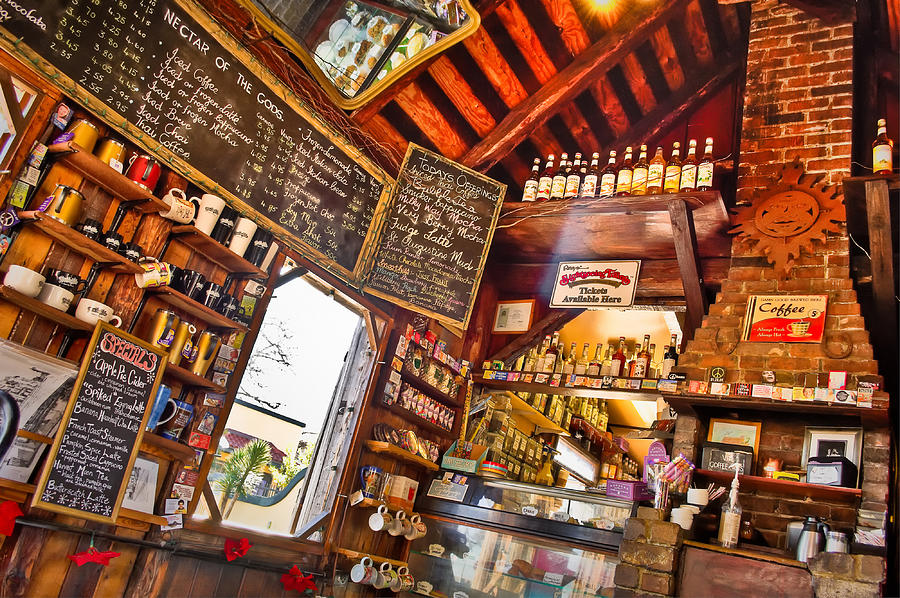 Coffeeshop Photograph - Coffee House by Rich Leighton