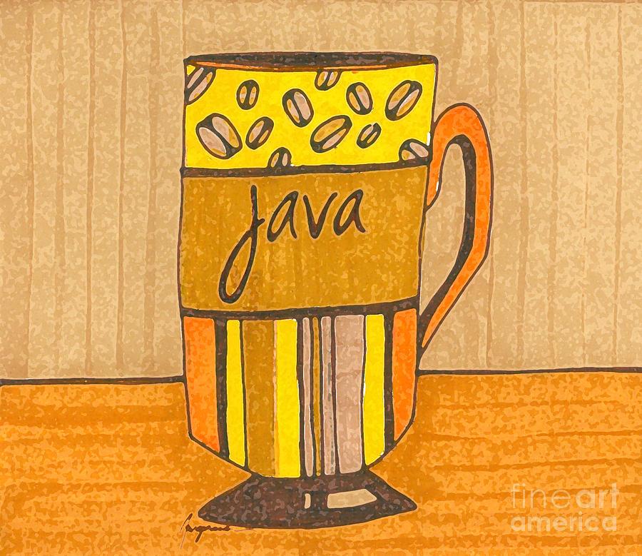 Coffee Mug - Java Cup - Cup Of Joe - Morning Coffee Illustration Art ...
