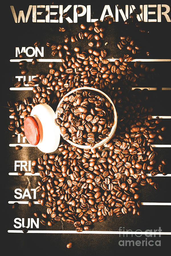 Coffee Photograph - Coffee On The Menu by Jorgo Photography - Wall Art Gallery